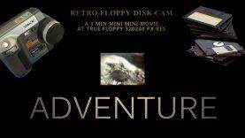 thumvidpost – Retro floppy-disk camera 3min mini mini movie – seashore