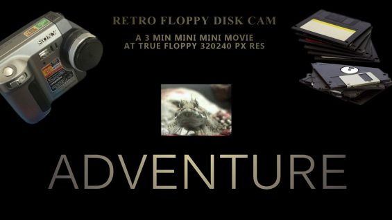 thumvidpost – Retro floppy-disk camera 3min mini mini movie – seashore