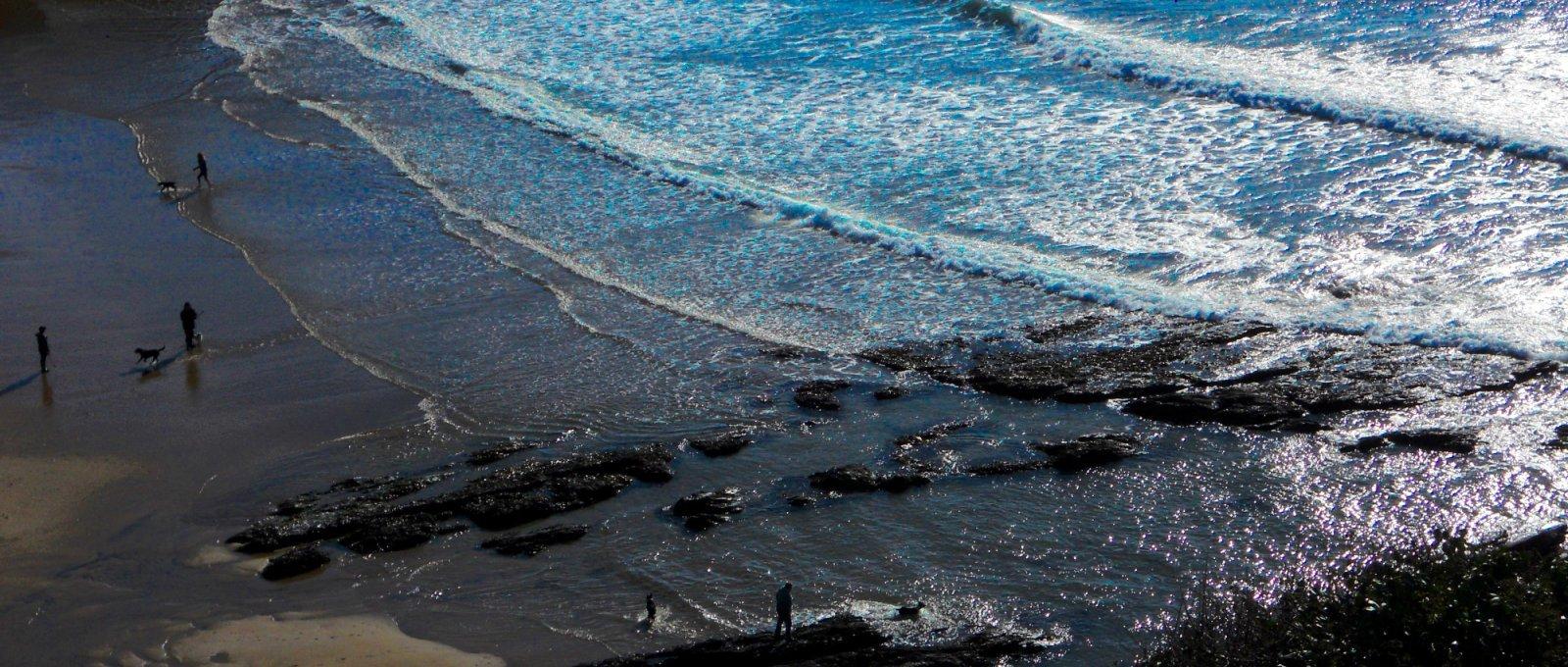 seashore scape